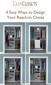 Bedroom Wall Unit Closets Best 10 Bedroom Closets Ideas On Pinterest Master Closet Design