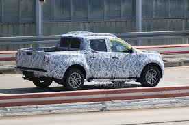 spied mercedes benz u201cx class u201d pickup spotted track testing for