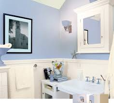 awesome blue wainscoting bathroom u2014 house improvements best