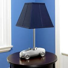Interior Design Room Boys Room Decorating Race Car Table Lamp - Kids room lamp