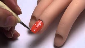 6 nail art designs nail tutorial using toothpick as a dotting tool