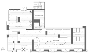 Floor Planners by Clothing Boutique Floor Plan Retail Clothing Store Floor Plan