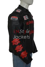 mens textile motorcycle jacket planet terror cherry darling biker men jacket instylejackets