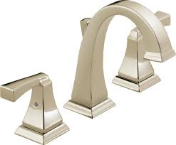 Fix Leaking Bathtub Faucet Double Handle by Delta Faucet 3551lf Pn Dryden Two Handle Widespread Bathroom