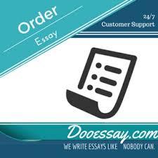 Order essay writing