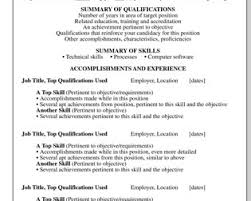 Technical Skills On Cv Professional Qualifications On Resume