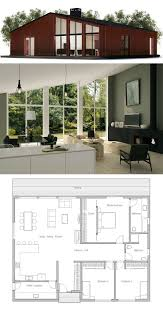 Houses With 2 Master Bedrooms Small House Plan I Love This But Would Change The Bathrooms The