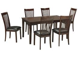 signature design by ashley mallenton mission style 7 piece dining