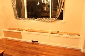 Ready Made Kitchen Cabinet by Breakfast Nook Update The Bench The Wood Grain Cottage