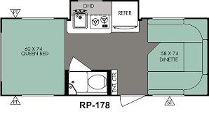 Caravan Floor Plan Layouts R Pod Retro Caravans American Caravans Direct