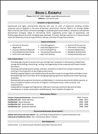 Sample Lawyer Resumes by Sample Law Resume Resume Samples Types Of Resume Formats Examples