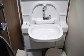 fold up bathroom sink