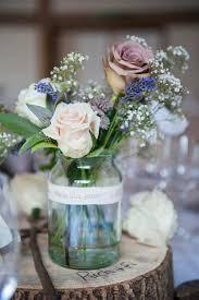Table Flower Arrangements Best 25 Jam Jar Flowers Ideas On Pinterest Jam Jar Wedding