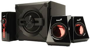 genius sw 5 1 home theater gx gaming genius sw g2 1 1250 black speakers alzashop com