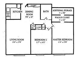 Two Bedroom Apartment Floor Plans Surprising Two Bedroom Apartment Floor Plans 3d Photo Decoration
