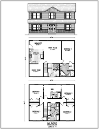 Home Decor Springfield Ma Simple 2 Storey House Design Home Floor Plans With Elevation