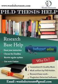Phd Thesis Writing Service In India Thesis Thesis Phd Thesis Writing Services