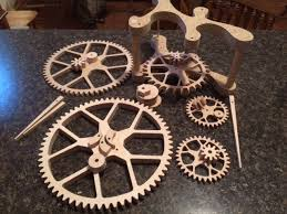 Free Wooden Clock Plans Dxf by The Shapeoko Forum U2022 View Topic Wooden Gear Clock Build Log