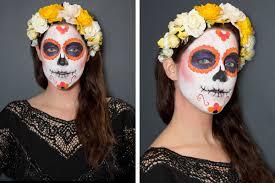 The 15 Best Sugar Skull Makeup Looks For Halloween Halloween by Sugar Skull Makeup How To How To Paint A Sugar Skull Face