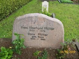 Grab von Dora Müller (geb. Buse) (1904-1985), Friedhof Bedekaspel - bk057