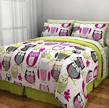 Full Size Bed In A Bag For Girls by Amazon Com Sketchy Owl Bed In A Bag Bedding Set Full Home
