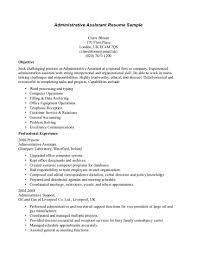 Office Assistant Resume Sample by Office Assistant Resume Objective Resume For Your Job Application