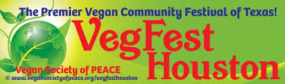 VegFest Houston Vegan Festival banner