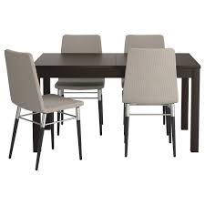Dining Table Sets  Dining Room Sets IKEA - Black dining table for 4