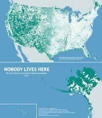 Hydrology Map Mapsbynik Nobody Lives Here The Nearly 5 Million Census