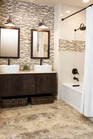 Mosaic Bathroom Tile by Glass Tile Bathroom Designs Completure Co