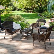 Best Wicker Patio Furniture Outdoor Wicker Patio Furniture Home Design By Fuller