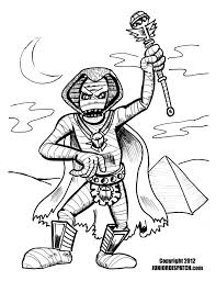 mummy drawing within coloring pages draw a clown arterey info