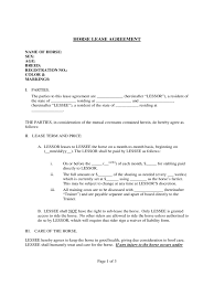 transfer agreement template horse lease agreement 6 free templates in pdf word excel download horse lease agreement template