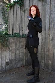 Black Widow Halloween Costume Ideas Avengers Black Widow Costume Perfect