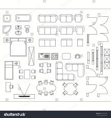 Interior Design Symbols For Floor Plans by Architectural Drawing Planning Construction Home Improvement Stock