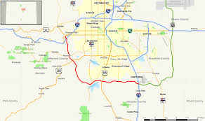 Southwest Colorado Map by Colorado State Highway 470 Wikipedia