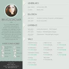 Unique Cv Templates Mint Cv Design On The Links Below You Can Get Free Psd Template