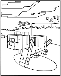 minecraft 12 minecraft coloring pages coloring for kids