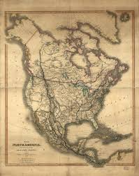 Mexico Map 1800 by Cartography Of Oregon 1507 1848
