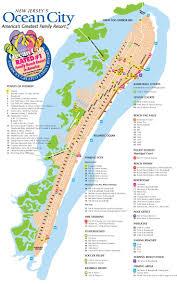 Map Nj Ocean City Nj Street Map Favorite Places U0026 Spaces Pinterest