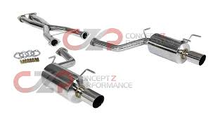 nissan 370z ark exhaust exhaust system exhaust systems u0026 kits