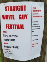Straight White Guy Festival At