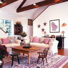 Farm Style Living Room by 20 Classy And Cheerful Pink Living Rooms