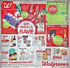 thanksgiving day sale walgreens thanksgiving sale ad posted blackfriday fm