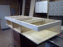 Make A Platform Bed With Storage by Platform Bed With Drawers 8 Steps With Pictures
