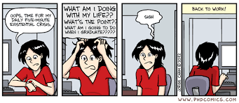 PHD Comics  The Daily Routine PHD Comics