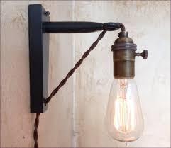 Swing Arm Wall Lamp Bedroom Plug In Swing Arm Lamp Cool Wall Lamps Bedroom With Wall