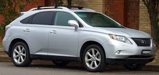 lexus rx400h crossover lexus rx wikiwand