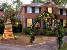 Christmas Home Decorations Pictures 19 Outdoor Christmas Decorating Ideas Hgtv