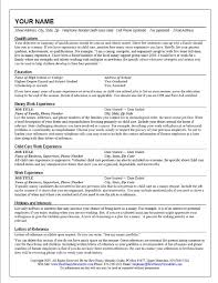 Sample Babysitter Resume by Sample Nanny Resume Tips For Writing Nanny Resume Professional